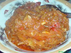 Cristina's world: Zacusca de dovlecei Romanian Food, Pork, Vegetarian, Dishes, Canning, Meat, Legumes, Vegetables, Pasta Salad
