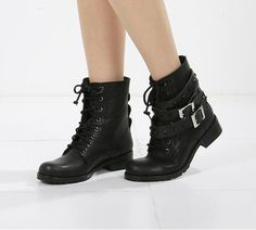 cute combat boots for women 2015 15 -  #shoes #cuteshoes
