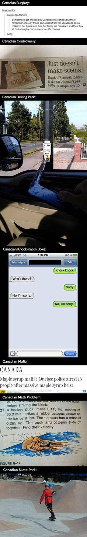Canadians.... Love em hahaha