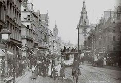 Glasgow Trongate 1800's
