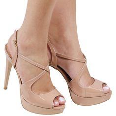 d0f054b723 Acquarelashop - A primeira boutique online de sapatos do Brasil - Sandália Salto  Alto Luiza Barcelos