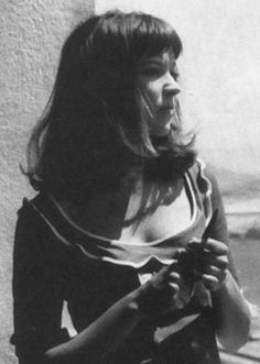 shoulder length hair - 1960s Anna Karina
