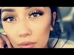 How to Apply False Lashes Without Eyeliner | Tips & Tricks - YouTube