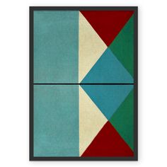 Poster Pensamentos Geométricos 1 de @fernandovieira   Colab55