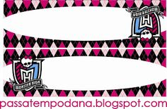 Passatempo da Ana: Monster High