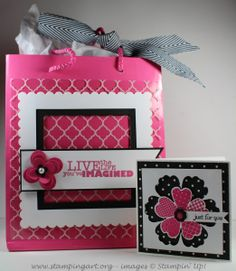 Graduation/Birthday Gift Bag & Card