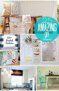 25 amazing diy ideas