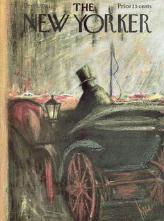 Robert Kraus : Cover art for The New Yorker 1920 - 2 December 1961