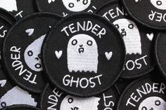Tender Ghost Logo Patch
