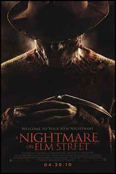 A Nightmare on Elm Street 2010 ORIGINAL MOVIE POSTER Horror Mystery Thriller - Dimensions: 27 x 41 @ niftywarehouse.com #NiftyWarehouse #Nerd #Geek #Entertainment #TV #Products
