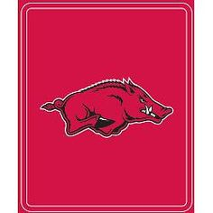 Logo Chair Arkansas Razorbacks Classic Fleece Blanket