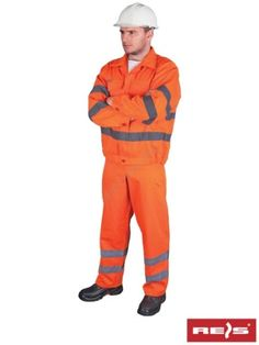 Ubranie ostrzegawcze komplet UL_P - Internetowy sklep z artykułami BHP i PPOŻ oraz odzieżą roboczą.