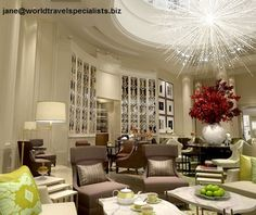 Corinthia Hotel London  The 294-room hotel is an ode to grand living: it's filled with extravagant gestures, such as seven two-story penthouse suites.  jane@worldtravelspecialists.biz