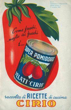 Cirio Ricettario 1952