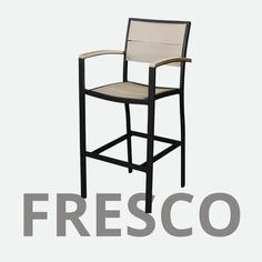 The Texawood Fresco Outdoor Furniture Collection features environmentally friendly lumber made from recycled plastics built to withstand a range of climates including hot sun, snowy winters, and strong coastal winds. Available in several stylish finish colors. Outdoor Furniture Inspiration, Furniture Collection, Fresco, Armchair, Recycling, It Is Finished, Building, Sofa Chair, Fresh