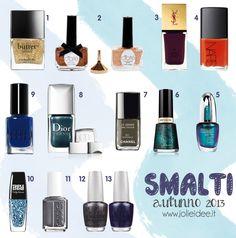 Smalti Autunno 2013 - I colori e i trend di stagione #nail #nailpolish