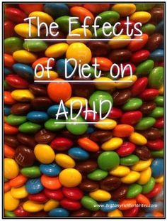 The Effects of Diet on ADHD - Which has more influence over children's behavior, what they eat, or what's in their genes? #ADHD #Diet #ADHDdiet