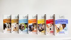 Treat Them With Love Cookies! 100% Natural Healthy Treats for Dogs. Wheat-Corn-Soy Free!