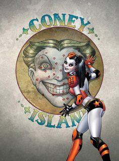 Harley Quinn by Amanda Connor