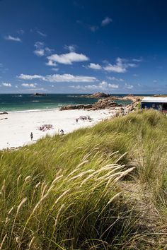 Grand Roques, a much-loved beach on Guernsey's West Coast.