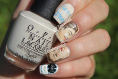 Coewless Polish: The Fault In Our Stars Nail Art