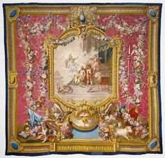 Tapestry: Don Quixote Cured of His Foly, French,ca.1773
