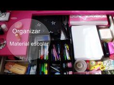 Parte 1: Tips para organizar el material escolar: Lapices, carpetas, estuches.. |Eva Perez