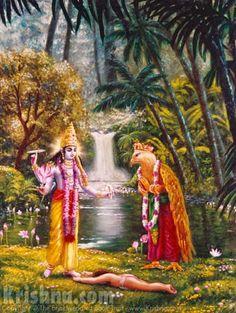 Story picture from Srimad Bhagavatam Krishna Lila, Krishna Radha, Hanuman, Krishna Avatar, Lord Rama Images, Lord Shiva Family, Lord Krishna Wallpapers, Lord Krishna Images, Krishna Painting