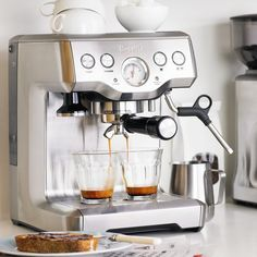Breville Infuser Espresso Machine #Coffee, #Espresso, #Infuser, #Machine