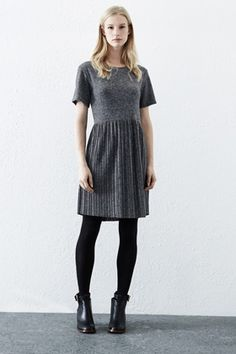 Check out this Pleated Marl Dress from Warehouse.
