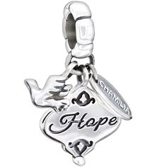 Authentic Chamilia Sterling Silver Charm Her Gift Of Hope 2010-3140. Pandora/Troll Compatible. Hope. Sterling Silver, 925. 2010-3140.