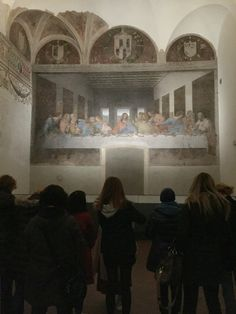 The last supper by di Vince in Milan. Blessed to have seen in person in Senior Trip, Italy Travel Tips, Southern France, Last Supper, Milan Italy, Amalfi Coast, Holiday Fashion, Verona, Bella