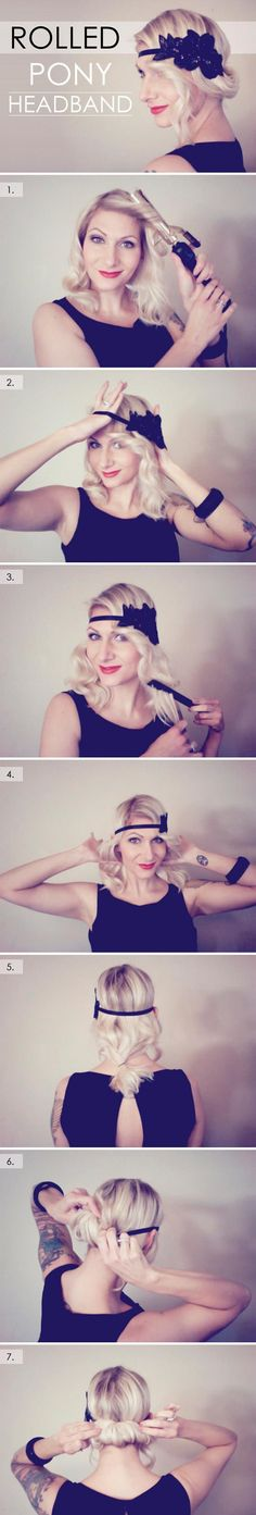 Stylish Retro Hairstyle Tutorials for Women