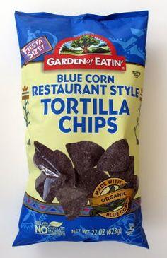 Garden of Eatin' Blue Corn Tortilla Chips. Best Vegan Recipes, Great Recipes, Snack Recipes, Vegan Chips, Blue Corn Tortilla Chips, Vegan Appetizers, Vegan Foods, Nachos, Pop Tarts