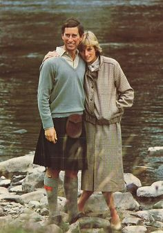 Princess Diana and her Prince in another lifetime....... June 1981,  Balmoral after honeymoon.