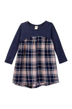 Harper Canyon - Mixed Media Fleece Dress (Baby Girls). Free Shipping on  orders b0278ea6c