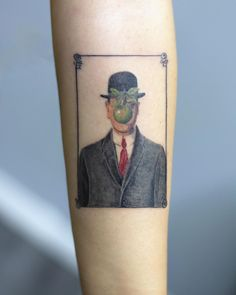 Son of Man Color Tattoo son of man color tattoo done at CACTUS INK Bucharest<br> Bucharest, Drawing, Color Tattoo, Illustration, Cactus, Triangle, Ink, Artists, Instagram