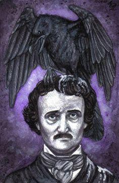 """moilartiste: """" Arden Ellen Nixon """"Poe is the odd man out, as usual"""" """""""