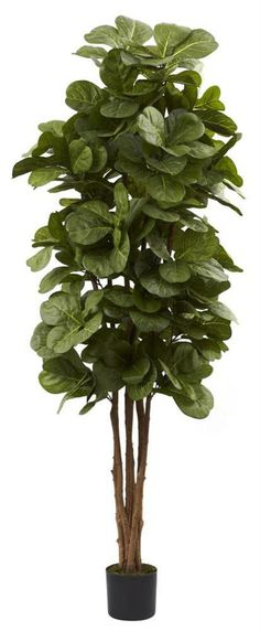 Nearly Natural - Artificial Fiddle Leaf Fig Tree