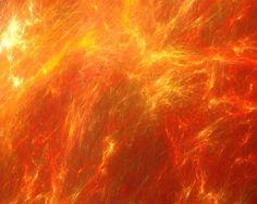 Fractal, Fire, Background, Hot