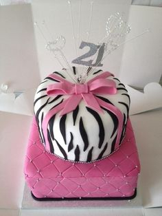 21st birthday cake, but it would be cute for my 25th !!