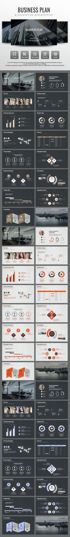 The Best Concept Clean Presentation Templates - #Business