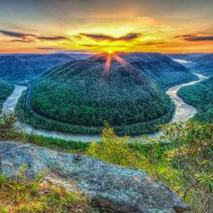 West Virginia #earthporn #sunset #beauty #sun #follow #instafollow #awesome #beautiful #FF