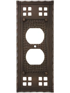 RUSTIC CHIPPED PAINT CRACKED WOOD ELECTRICAL OUTLET WALL PLATE COUNTRY CABIN ART