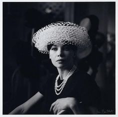 A hat by Jean Barthet. You have to love his style!