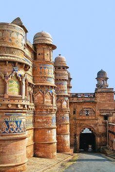 Fort Gwalior, Madhya Pradesh, India Lech Magnuszewski