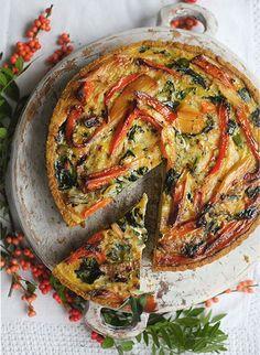 Turkey, Carrot & Parsnip Quiche