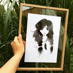 IKEA DIY TIP: Just made my own transparent DIY frame! Just use 2x IKEA fiskbo frames (only the plexi) into a frame of your choice ❤️ and voila! Fix the poster with a small piece of removable tape on the backside so it stays in place. Here the frame is 30x40 and the print is 21x30 for a nice passé partout effect. from www.prikogstreg.dk