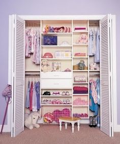 Girls closet space ♡
