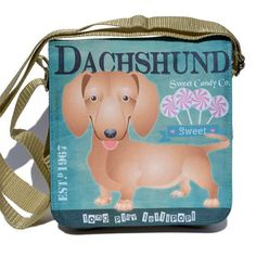 Tacskó  táska Dachshund, Lunch Box, Candy, Play, Sweet, Toffee, Sweets, Dachshunds, Candles
